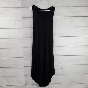Leela & Lavender Jersey Knit Maxi Dress